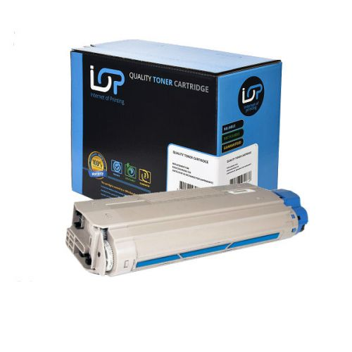IOP Remanufactured Toner Cartridge for use in Oki ES 8460 / 44059231 Cyan 9000 pages