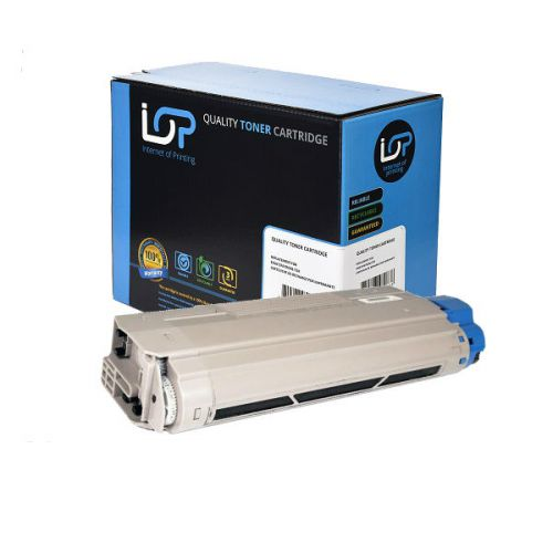 IOP Remanufactured Toner Cartridge for use in Oki ES 8460 / 44059232 Black 9000 pages