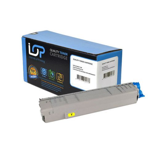 IOP Remanufactured Toner Cartridge for use in Oki ES 8451 / 44059257 Yellow 9000 pages