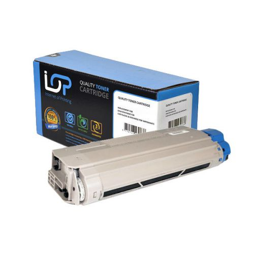 IOP Remanufactured Toner Cartridge for use in Oki C 610 / -cdn / -dn / -dtn / -n / 44315308 Black 8000 pages