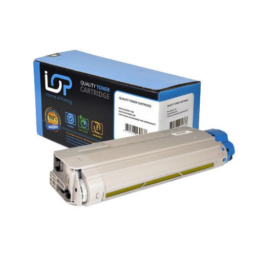 IOP Remanufactured Toner Cartridge for use in Oki C 710 / -711 Serie / 44318605 Yellow 11500 pages