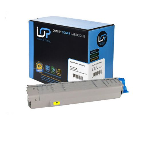 IOP Remanufactured Toner Cartridge for use in Oki C 831 / 841 / 44844505 Yellow 10000 pages