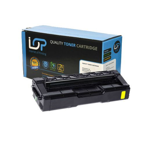 IOP Remanufactured Toner Cartridge for use in Ricoh Aficio SP C220 / 406106 Yellow 2000 pages
