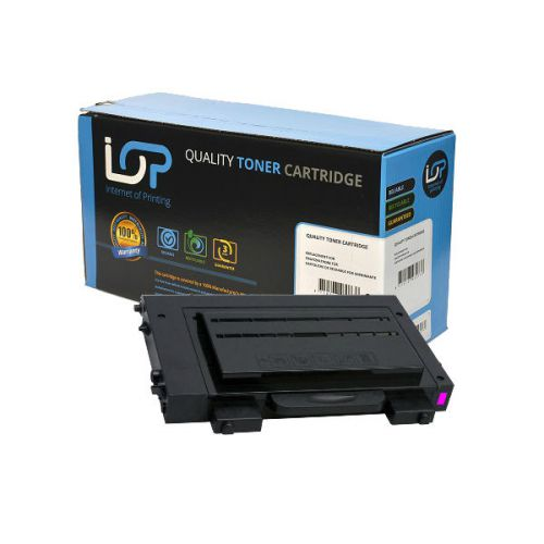 IOP Remanufactured Toner Cartridge for use in Samsung CLP-510 / CLP510D5M Magenta 5000 pages