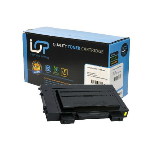 IOP Remanufactured Toner Cartridge for use in Samsung CLP-510 / CLP510D5Y Yellow 5000 pages