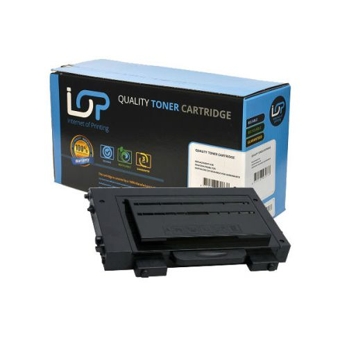 IOP Remanufactured Toner Cartridge for use in Samsung CLP-510 / CLP510D7K Black 7000 pages