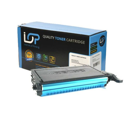 IOP Remanufactured Toner Cartridge for use in Samsung CLP 660 / CLPC660B Cyan 5000 pages