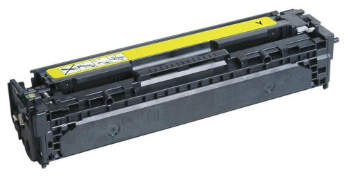 econoLOGIK Compatible Toner Cartridge for use in HP Color LaserJet CM1415 fnw mfp / CP1525 128A / CE322A Yellow 1300 pages