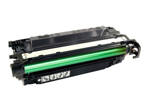 econoLOGIK Compatible Toner Cartridge for use in HP Color LaserJet CP3520 504X / CE250X Black 10500 pages