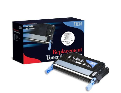 IBM Replacement Toner Cartridge for use in HP Color Laserjet CP4005 642A / CB400A Black 7500 pages