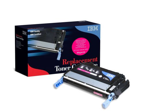 IBM Replacement Toner Cartridge for use in HP Color Laserjet CP4005 642A / CB403A Magenta 7500 pages