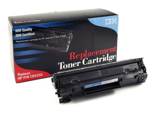 IBM Replacement Toner Cartridge for use in HP Laserjet P1005 35A / CB435A Mono 1500 pages