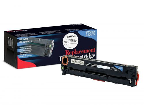 IBM Replacement Toner Cartridge for use in HP Laserjet Pro CP1525N 128A / CE320A Black 2000 pages