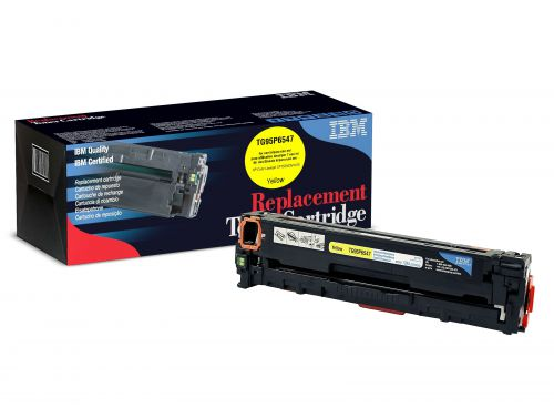 IBM Replacement Toner Cartridge for use in HP Laserjet Pro CP1525N 128A / CE322A Yellow 1300 pages