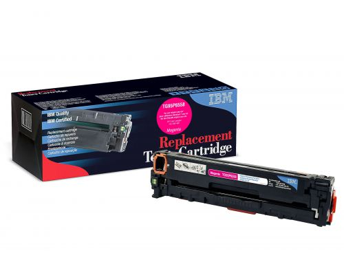 IBM Replacement Toner Cartridge for use in HP Laserjet PRO 300 305A / CE413A Magenta 2600 pages