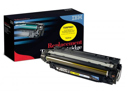 IBM Replacement Toner Cartridge for use in HP CLJ Enterprise CM 4540 MFP Series 646A / CF032A Yellow 12500 pages