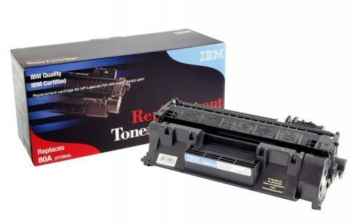 IBM Replacement Toner Cartridge for use in HP Laserjet PRO M401 80A / CF280A Mono 2700 pages