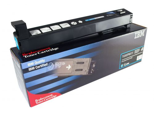 IBM Replacement Toner Cartridge for use in HP Color Laserjet M880 827A / CF287A Cyan 32000 pages
