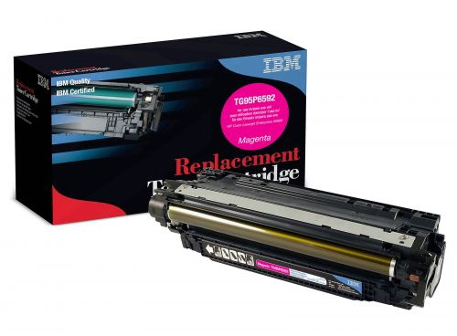 IBM Replacement Toner Cartridge for use in HP Laserjet Enterprise M680 653A / CF321A Magenta 16500 pages