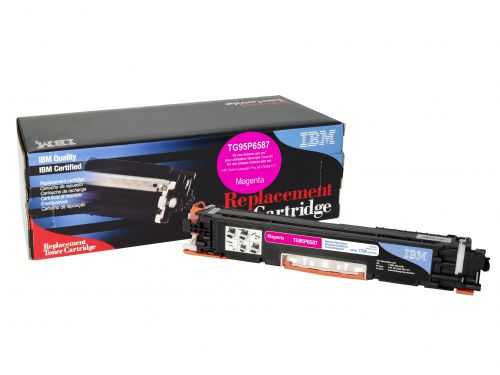 IBM Replacement Toner Cartridge for use in HP Laserjet Pro M177 130A / CF351A Magenta 1000 pages