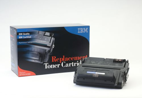 IBM Replacement Toner Cartridge for use in HP Laserjet 4200 38A / CF413A Mono 12000 pages