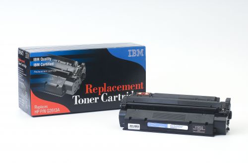 IBM Replacement Toner Cartridge for use in HP Laserjet 1300 13A / Q2610A Mono 2500 pages