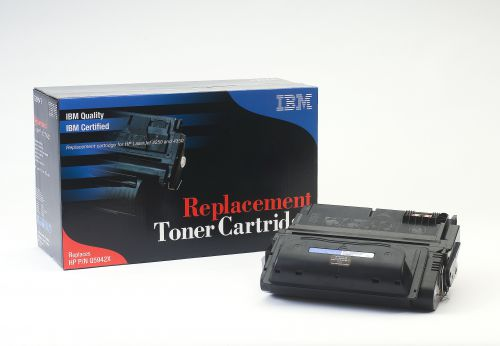 IBM Replacement Toner Cartridge for use in HP Laserjet 4250/4350 42X / Q2683A Mono 20000 pages