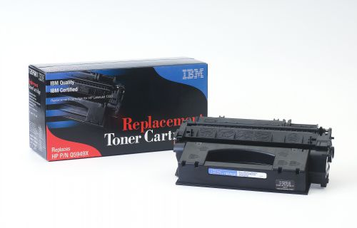 IBM Replacement Toner Cartridge for use in HP Laserjet 1320 49X / Q5945A Mono 6000 pages