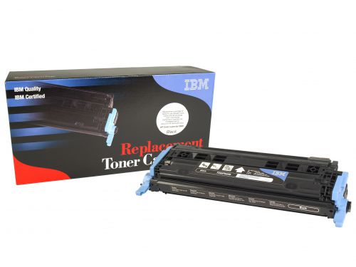IBM Replacement Toner Cartridge for use in HP Color Laserjet 2600 124A / Q5952A Black 2500 pages
