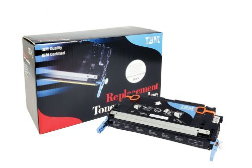 IBM Replacement Toner Cartridge for use in HP Color Laserjet 3600 501A / Q6462A Black 6000 pages
