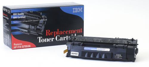 IBM Replacement Toner Cartridge for use in HP Laserjet P2015 53A / Q7551A Mono 3000 pages
