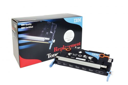 IBM Replacement Toner Cartridge for use in HP Color Laserjet 3000 314A / Q7553A Black 6500 pages
