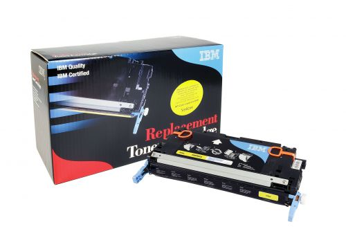 IBM Replacement Toner Cartridge for use in HP Color Laserjet 3800 503A / Q7570A Yellow 6000 pages