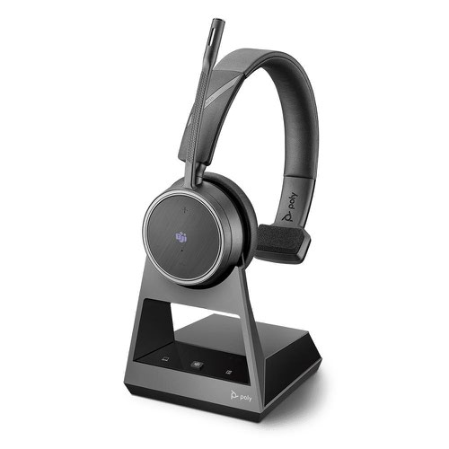 Poly Voyager B4210 UC Mono USB-A Microsoft Teams Headset with Stand