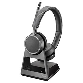 Poly Voyager B4220 Office Stereo USB-A Headset and Base