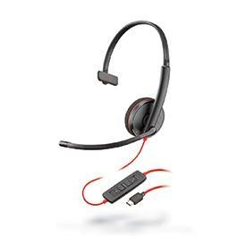 Poly Blackwire C3210 USB-C Monaural Headset