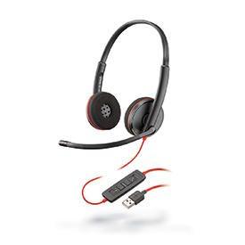 Poly Blackwire C3220 USB-A Hi-Fi Stereo Headset