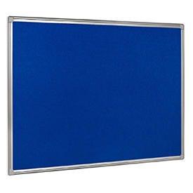 Bi-Office Earth-It Blue Felt Noticeboard Alu Frme 1200x900