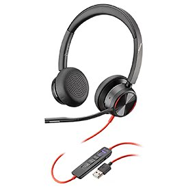 Poly Blackwire 8225-M USB-A Stereo Headset