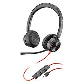 Poly Blackwire 8225-M USB-C Stereo Headset