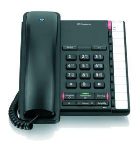 BT Converse 2200 Telephone Black
