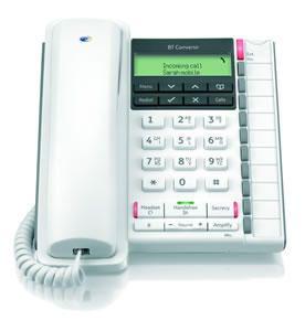 BT Converse 2300 Telephone White