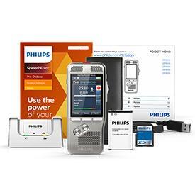 Philips DPM8000 Pocket Memo with SpeechExec Pro Dictate 11