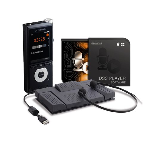 Olympus DS-2600 and AS-2400 Dictation and Transcription Starter Kit