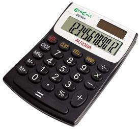 Aurora EC404 Handheld Calculator