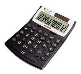 Aurora EC707 Handheld Calculator
