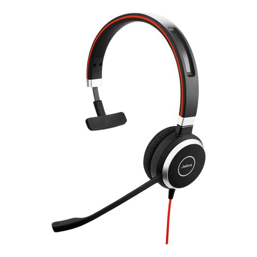 Jabra Evolve 40 MS NC Mono Headset