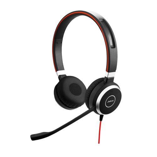 Jabra Evolve 40 MS Stereo USB C Headset
