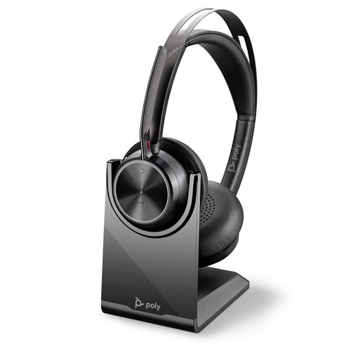 Poly Voyager Focus 2 UC USB-C Headset with Stand