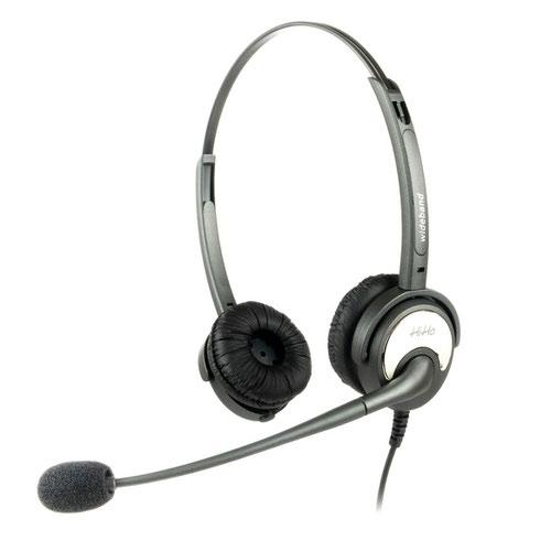 HiHo 200P Stereo QD Headset with Boom Mic